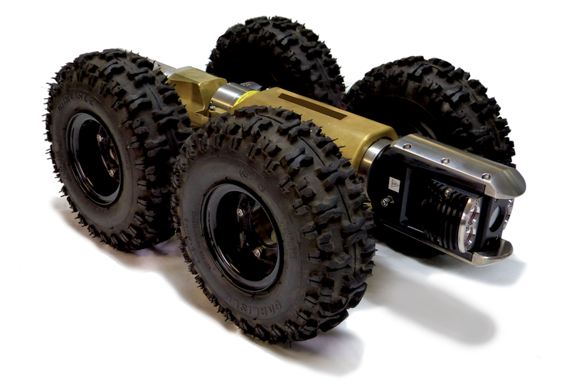 ​The SPRII is a rugged and versatile robotic camera transporter.