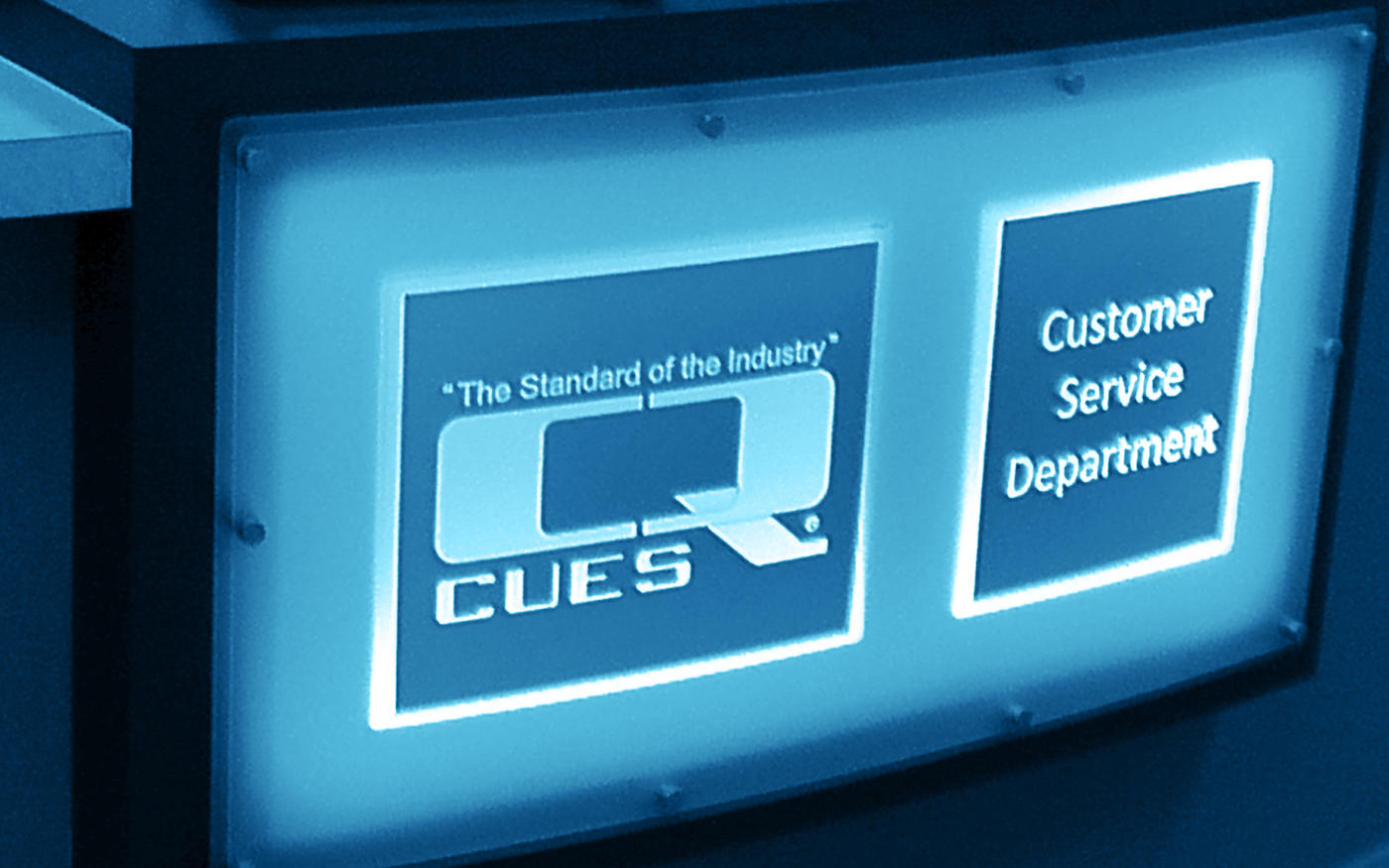 ​CUES provides industry customer service.
