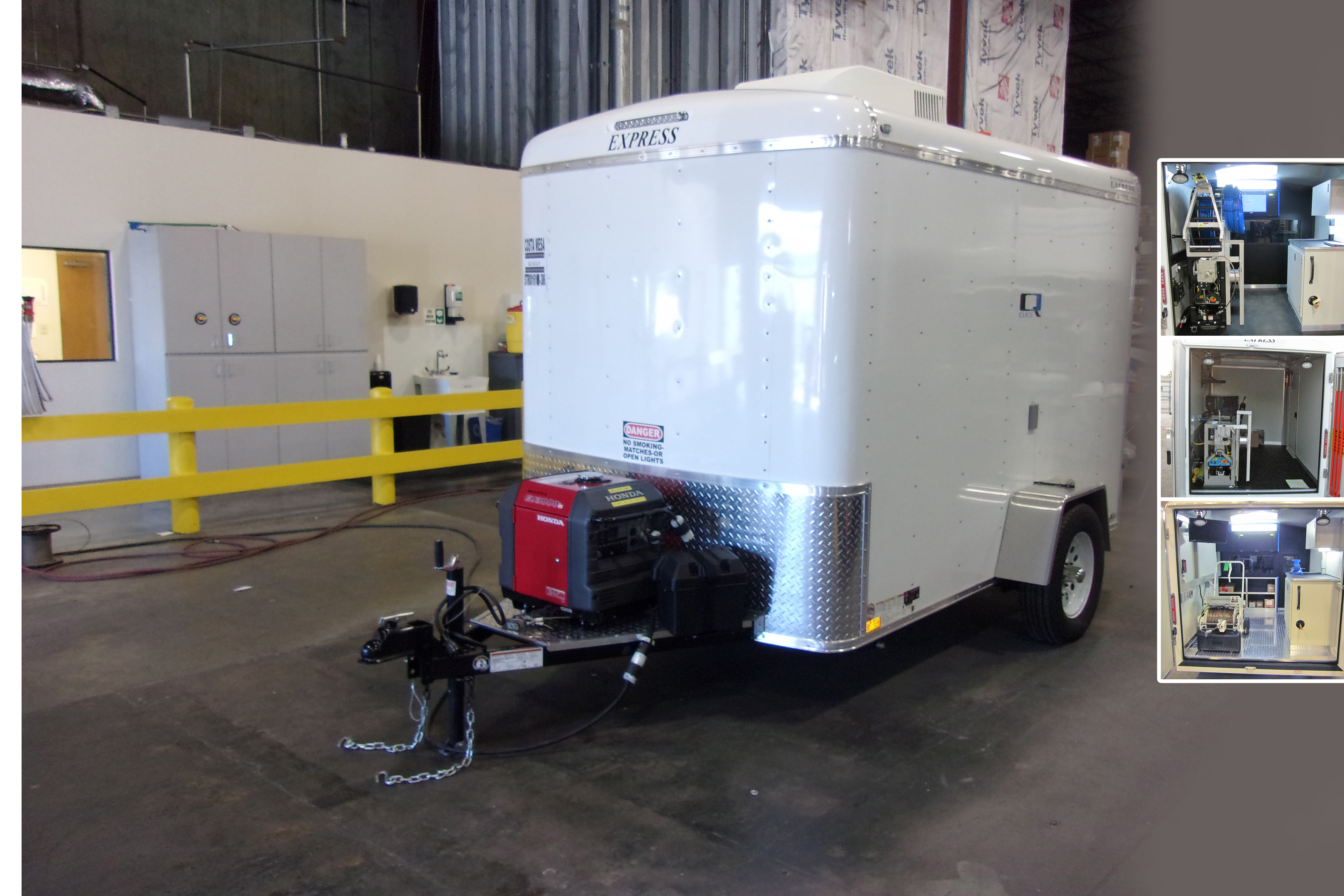 Custom Trailer Mounted Systems Cues Go The Distance