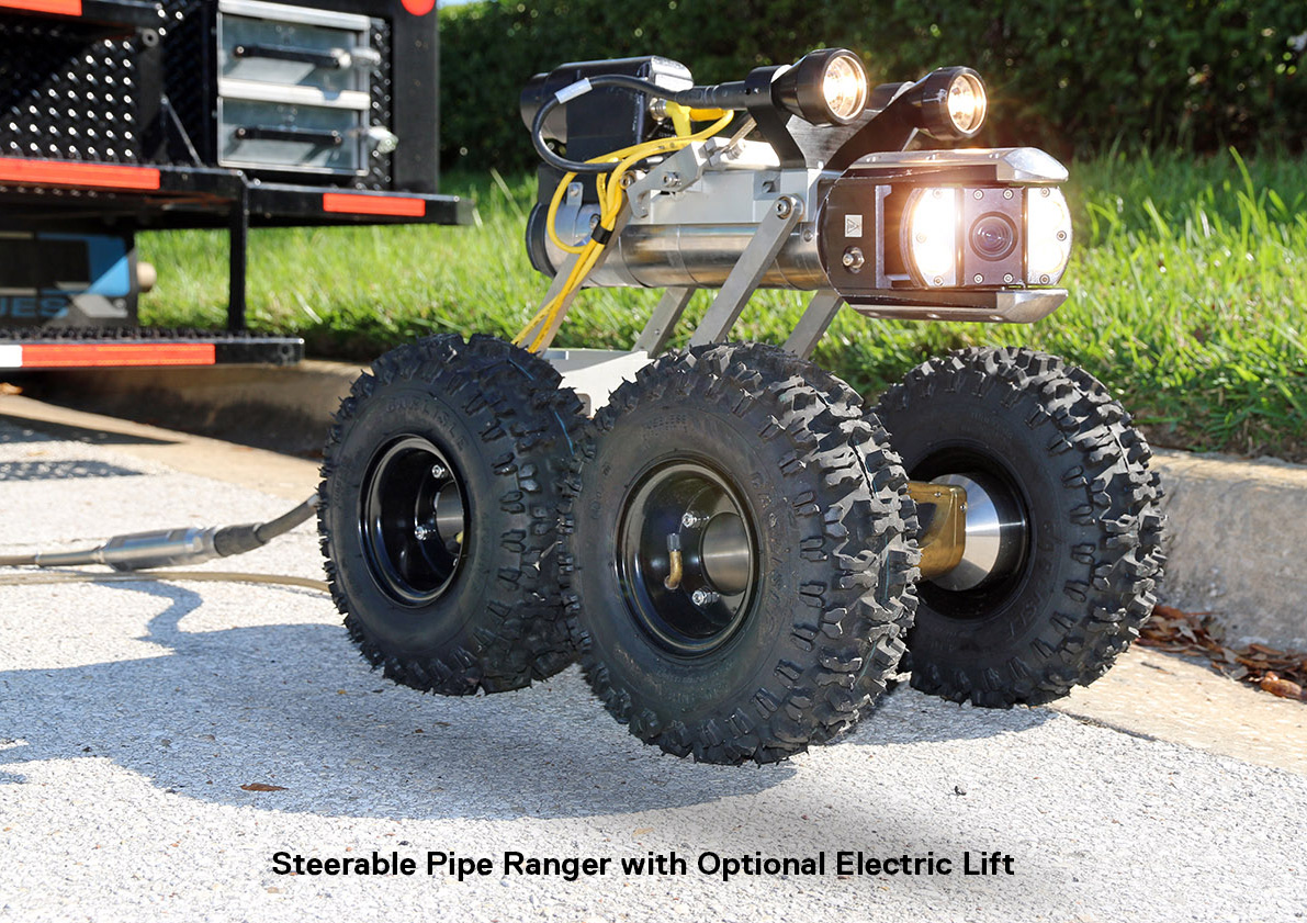 Steerable Pipe Ranger Ii Cues Go The Distance Reverse Forward Control Circuit 1